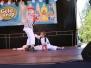 Festyn rodzinny - pokazy karate i cheerleaders