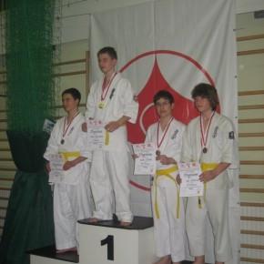 Ms. Makroregionu Południowego w Karate Kyokushin - Kraków 2011
