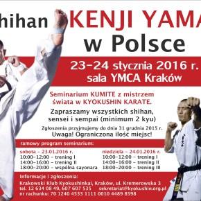 Seminarium z Mistrzem Świata – shihanKenjiYamaki