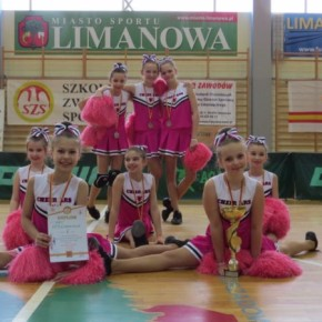 Limanowskie Cheerleaderki ARS ciągle na topie