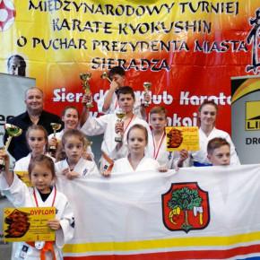 Międzynarodowy Turniej Karate Kyokushin w Sieradzu