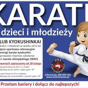 Karate dla dzieci i młodzieży - zapisy