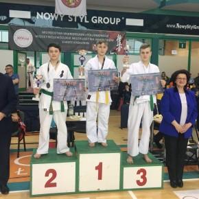 Pięć medali karateków ARS Klub Kyokushinkai - Krosno 2018
