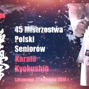 45 Mistrzostwa Seniorów Polski Kyokushin Karate