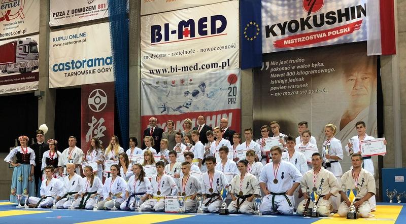 Limanowski karateka Damian Górka wicemistrzem Polski