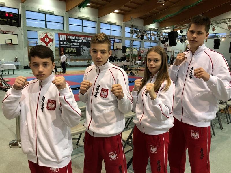 Puchar Polski Karate Kyokushin – Szczecinek 2018r. ARS Limanowa – JONIEC Team tym razem bez medalu.