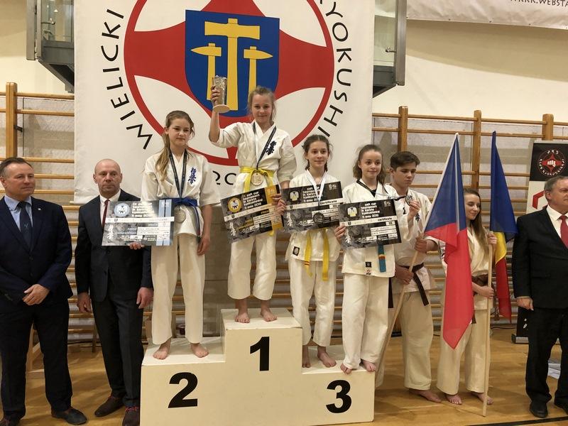 IX Międzynarodowy Turnieju o Puchar Solny w Karate Kyokushin - Wieliczka 2019