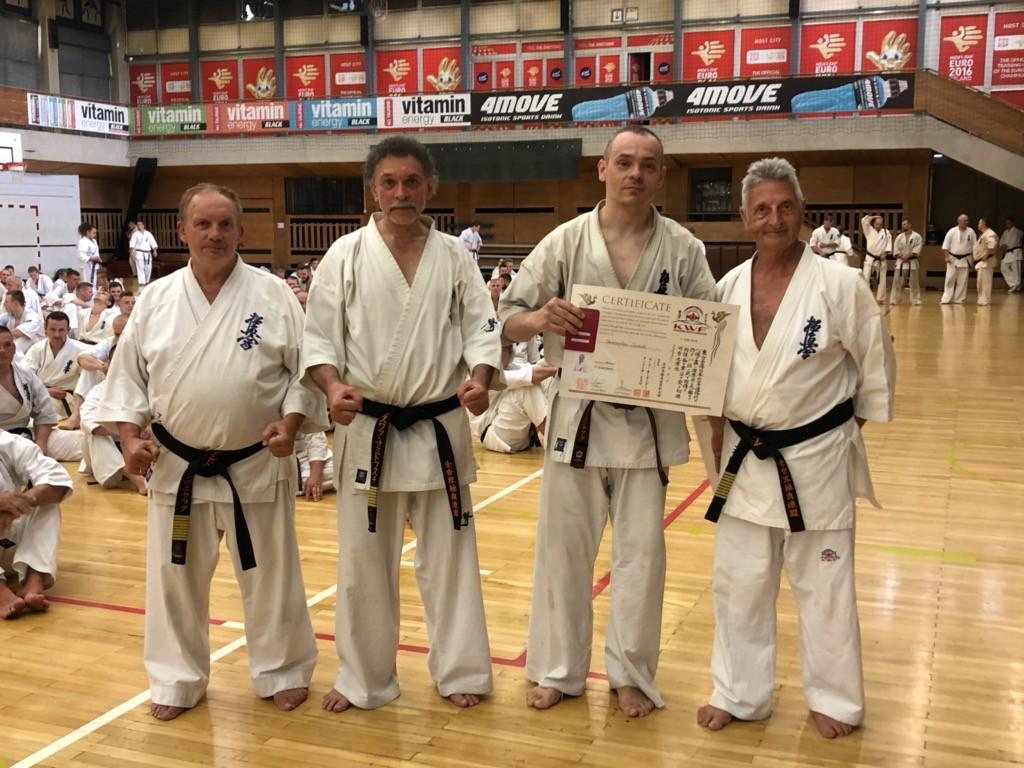46 Wschodnioeuropejski Obóz Karate Kyokushin - Przemek po egzaminie
