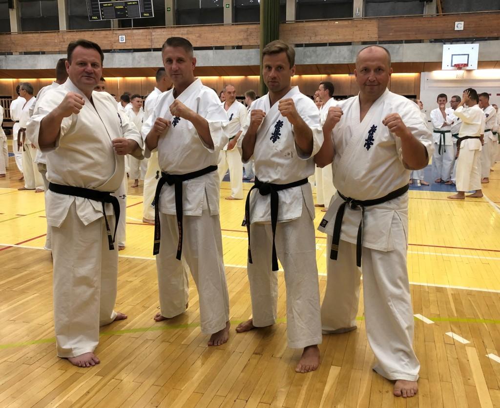 46 Wschodnioeuropejski Obóz Karate Kyokushin - Arek, Michał, Wałdek, Paweł