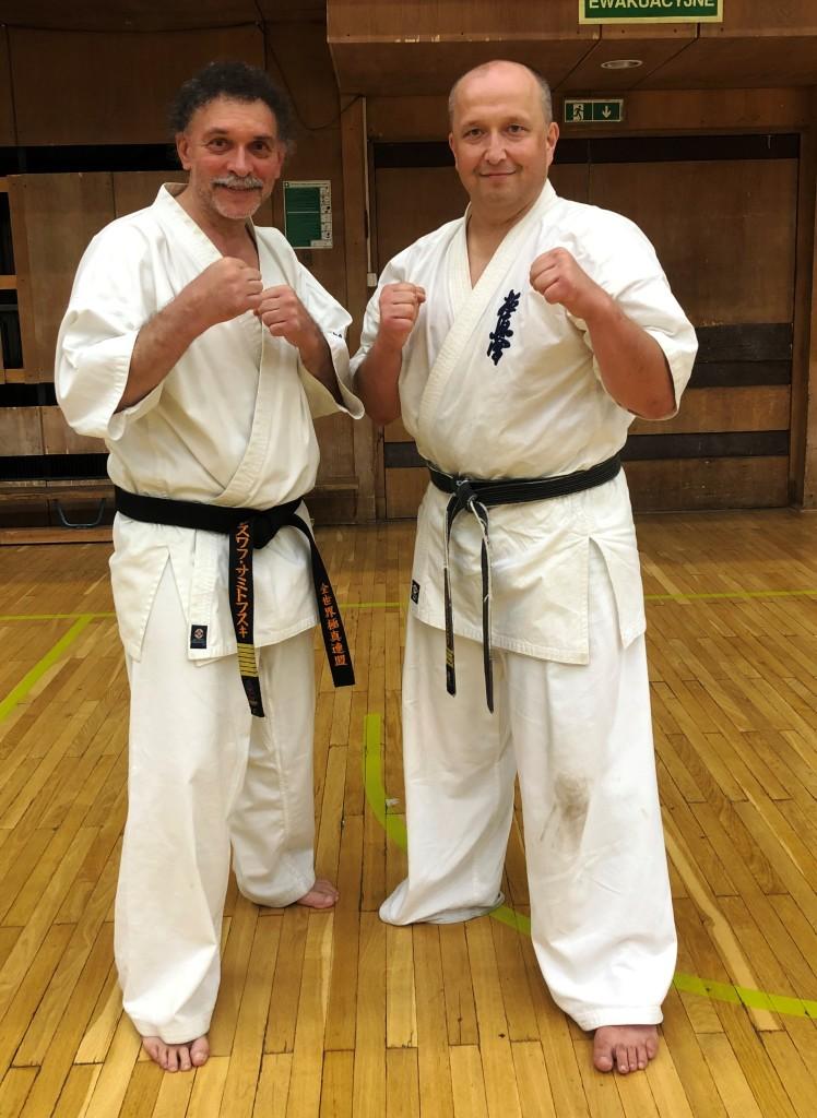 46 Wschodnioeuropejski Obóz Karate Kyokushin - Arek i Samitowski