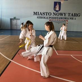 Zgrupowanie Kumite Małopolskiego Okręgowego Związku Karate Nowy Targ