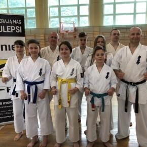 Zgrupowaniu kumite Okręgowego Związku Karate