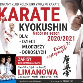 Nabór do sekcji Karate Kyokushin na sezon 2020/2021