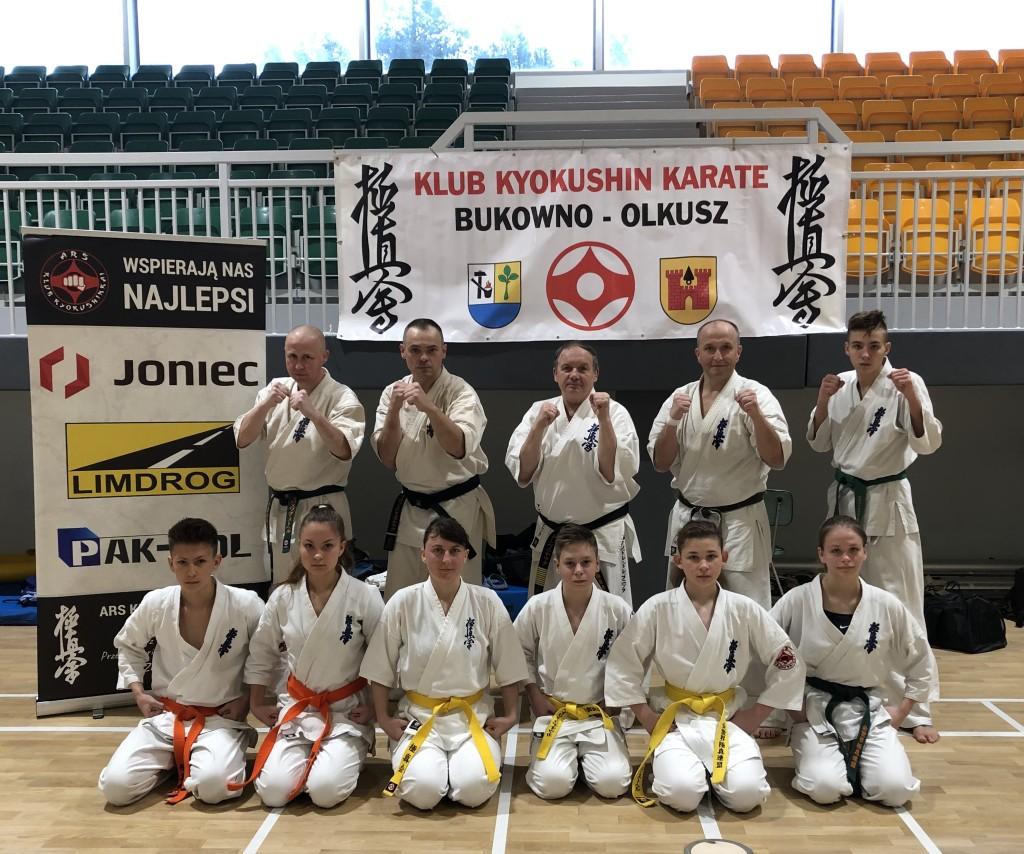 V Zgrupowania Małopolskiego Okręgowego Związku Karate – Bukowno 2020